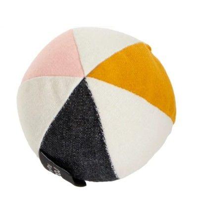 Lekboll med klocka - Rose - ekologisk från Roommate