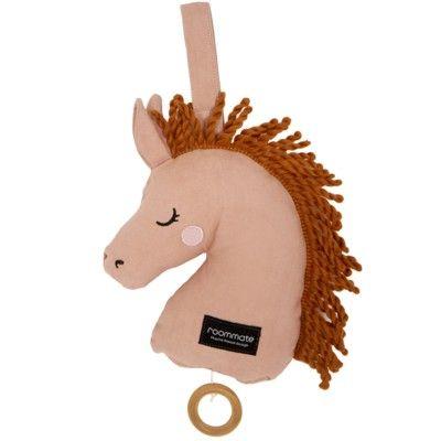 Speldosa - Häst, rosa - ekologisk från roommate
