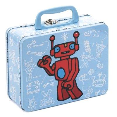 Koffert i plåt - robot