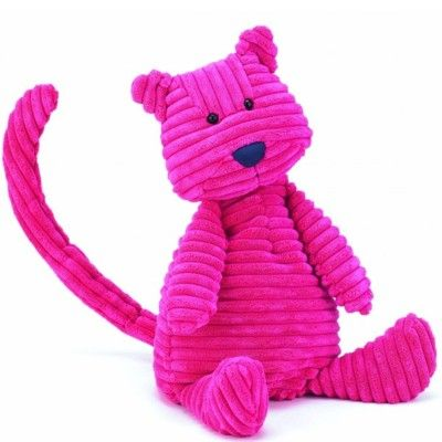 Katt - gosedjur, manchester - 45 cm - Jellycat