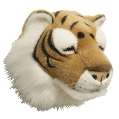 Djurhuvud att hänga på väggen - tiger