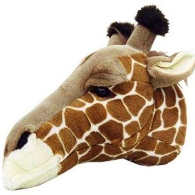 Djurhuvud att hänga på väggen - giraff