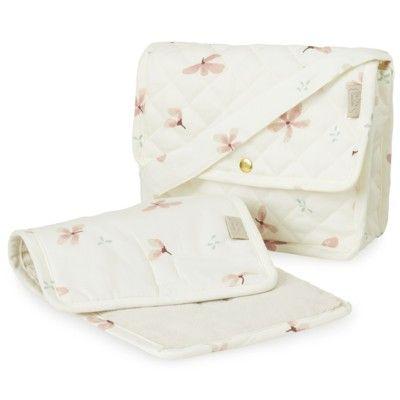 Skötväska för dockan - Windflower Creme - Ekologisk  från Cam Cam