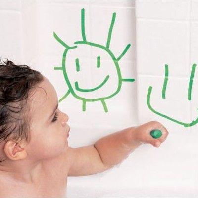 Badleksak - rita i badet
