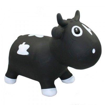 Hoppdjur - kossa, svart och vit