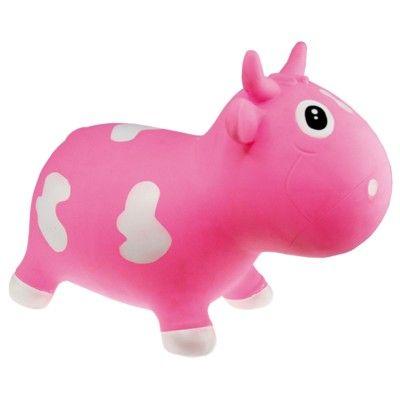Hoppdjur - kossa, rosa och vit
