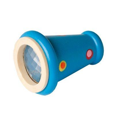 Kaleidoskop, kon - blå med prickar