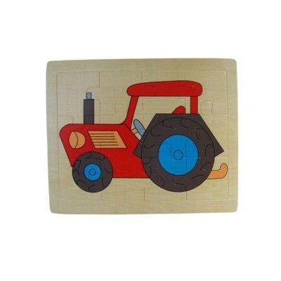Pussel med traktor