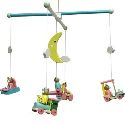 Mobil i trä - Nallar