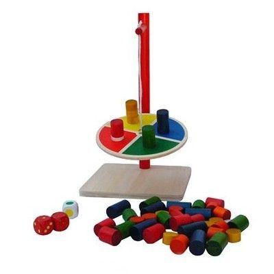 Balansspel med cylindrar