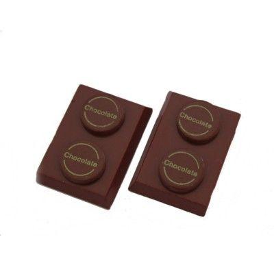 Choklad i trä - 2 bitar
