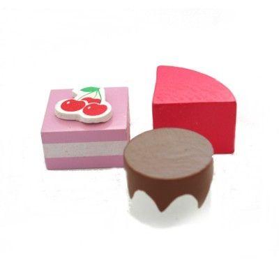 Leksaksmat - praliner med kirsebär - 3 st