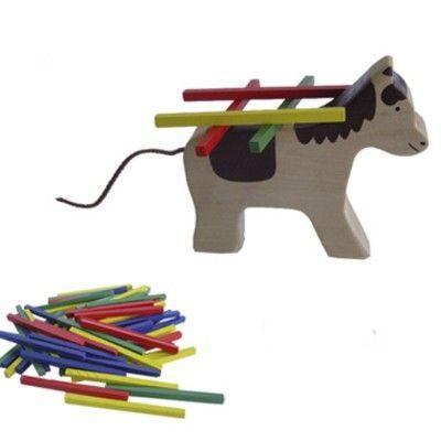 Balansspel med häst