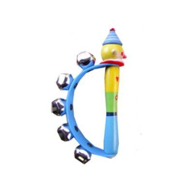 Handbjällra - clown - blå