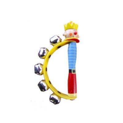 Handbjällra - clown - gul