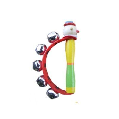 Handbjällra - clown - röd