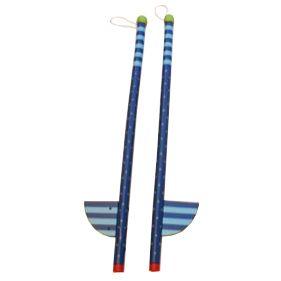 Styltor - blå