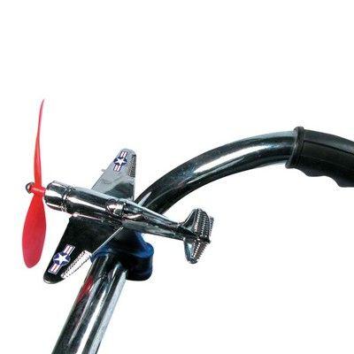 Flygplan till cykel