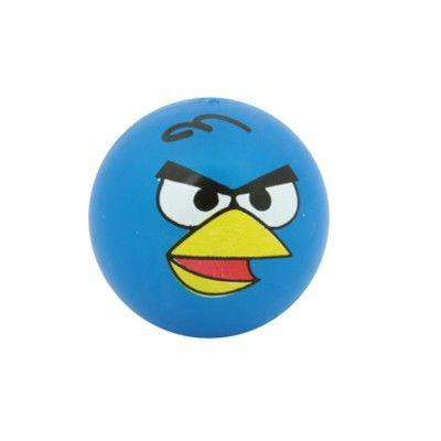 Studsboll med ljus - Angry Birds - blå
