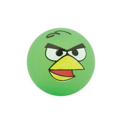 Studsboll med ljus - Angry Birds - grön