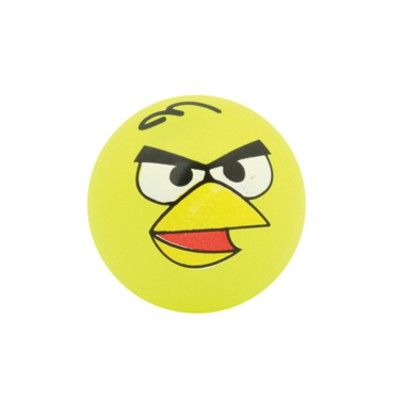 Studsboll med ljus - Angry Birds - gul