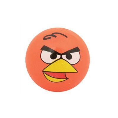 Studsboll med ljus - Angry Birds - orange