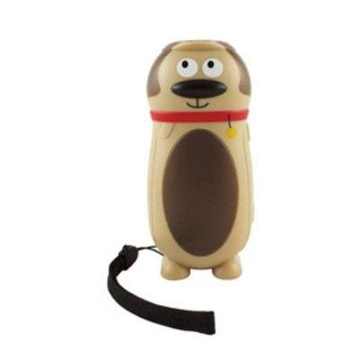 Ficklampa dynamo - hund