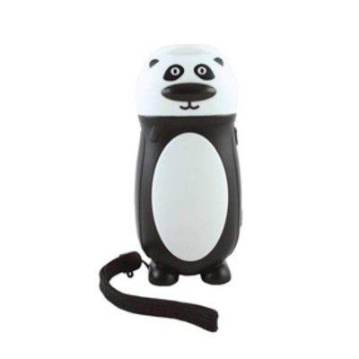 Ficklampa dynamo - panda