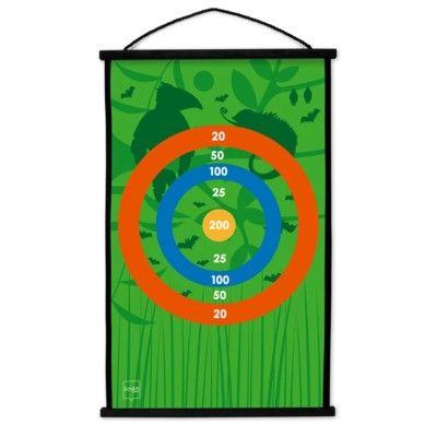 Spel - Start to Dart - darttavla - Toucan Jungle - Scratch