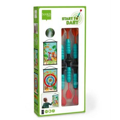 Spel - Start to Dart - darttavla - Dino World - Scratch