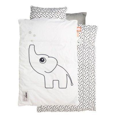 Påslakanset - Elphee vit - baby 80x70 - done by deer