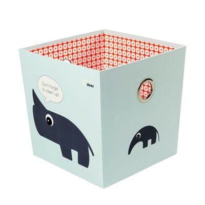 Förvaringsbox - done by deer - blå