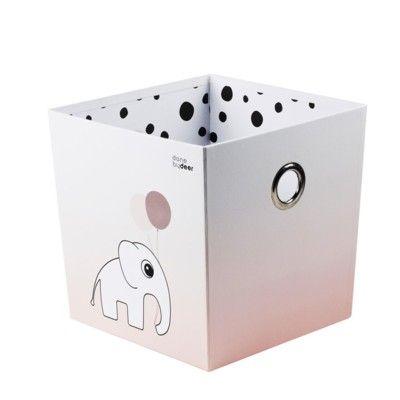 Förvaringsbox - done by deer - dots puderrosa