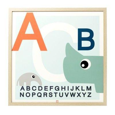Affisch - ABC