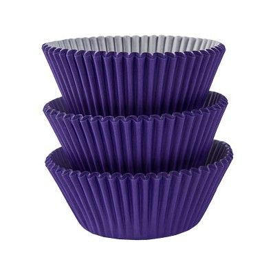Muffinsformar - lila - 75 st
