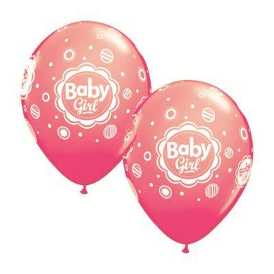 Ballonger - Baby girl - 6 st