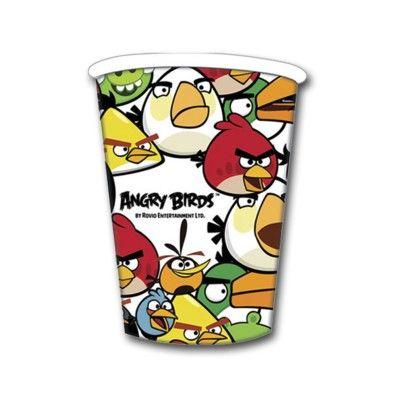 Kalasmuggar - Angry birds - 8 st