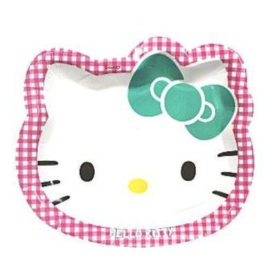Kalastallrikar - Hello Kitty party - 8 st