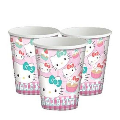 Kalasmuggar - Hello Kitty party - 8 st