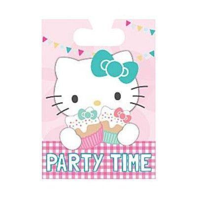 Godispåsar - Hello Kitty party - 8 st