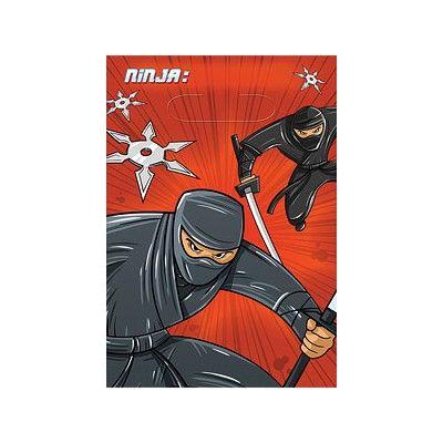 Godispåsar - ninja - 8 st