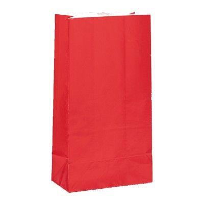Godispåsar - röd - 12 st