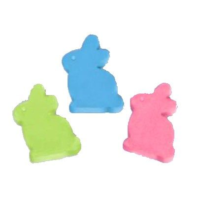 Gatukritor i fina färger, 3 kaniner