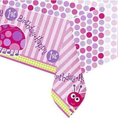 Kalasduk - 1 år - rosa nyckelpiga