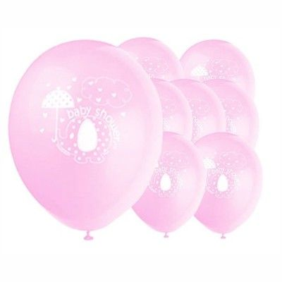 Ballonger - elefant - ljusrosa - 8 st