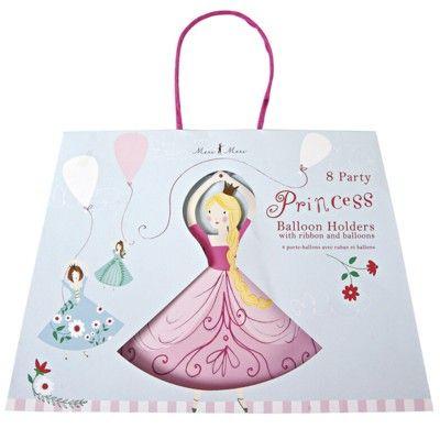 Ballonger med hållare - Jag är en prinsessa