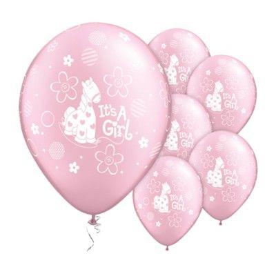 Ballonger - It's a girl - 6 st