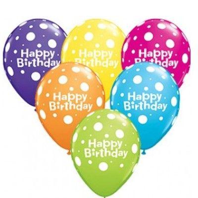 Ballonger - happy birthday - stora prickar