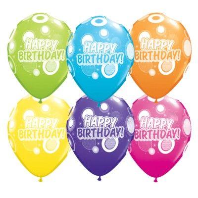 Ballonger - happy birthday - roliga prickar