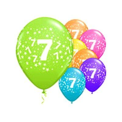 Ballonger - 7 år - 6 st